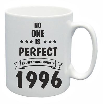 23rd. Regalo Compleanno Novità Tazza Da Tè Nessuno è Perfetto 1996 Coffee Cup-