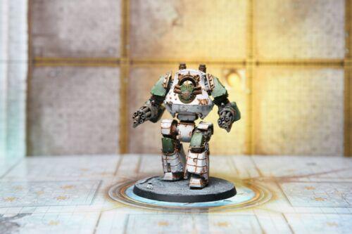 Death Guard Legion Contemptor Dreadnought painted Warhammer 40k Horus Heresy