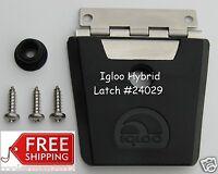 Igloo Hybrid Stainless Steel & Plastic Latch 24029 - Latch, Post & 3 Screws