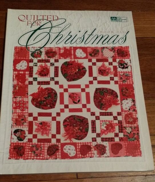 QUILTED FOR CHRISTMAS BOOK III (15 Projects with PULL-OUT TEMPLATES!) BRAND NEW!