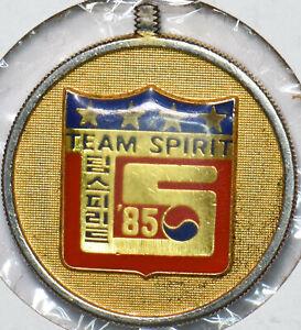 Korea-1970-President-of-korea-Team-Spirit-Token-gold-gilted-293147-combine-shipp
