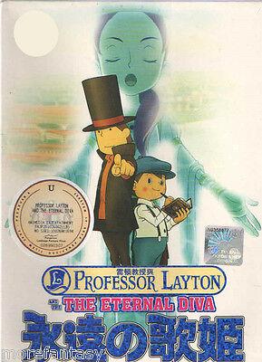 (A01) Professor Layton and The Eternal Diva DVD Box Set Eng SUB