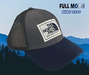New-The-North-Face-Mudder-Navy-Gray-Snapback-Trucker-Cap-Hat