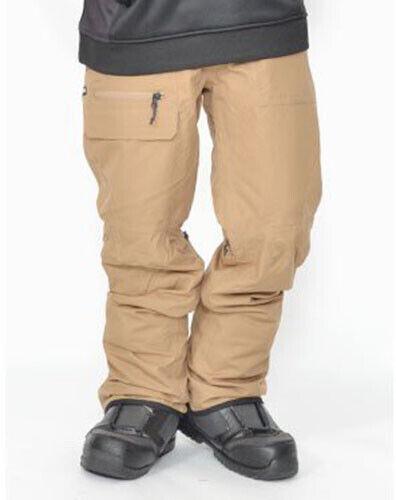 686 Vice Shell Snowboard Pant (L) Khaki L8W211-KHA