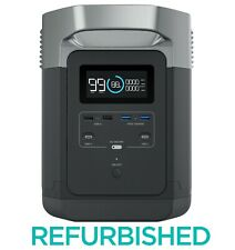 EcoFlow DELTA Portable Power Station 1260Wh Surge 3300W Certified Refurbished