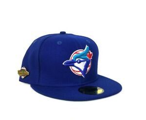 New Era Royal Blue Toronto Blue Jays 1992 World Series Pin Fitted ... 9dd294283bc4