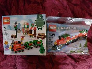 LEGO-40262-Christmas-Winter-Train-Ride-Retired-Sealed-169-pieces-w-bonus-30543