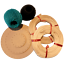 Flechtset-Korbflechtset-Peddigrohr-Rattan-Sets-Korbflechtboden-Papiergarn-uvm miniature 8