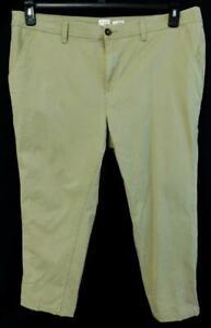 A-new-day-khaki-women-039-s-plus-size-skinny-leg-stitching-spandex-pants-18W
