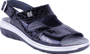 Caviglia Da Misure Con Alla Cinturino Nero Comfort Janette Donna Helle Sandali x8TwU0zTq