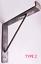 miniature 3 - Rustic Shelf Brackets Scaffold Board Heavy Duty 225mm Industrial Steel Metal