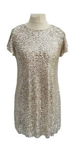Ladies-Womens-Sequin-Special-Occasions-Party-Dress-NEW-UK-Sizes-4-6-8-10-12-14