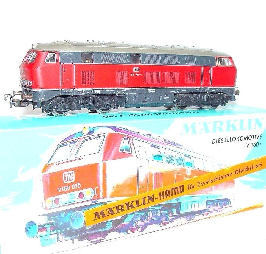 Marklin HAMO DC HO German DB BR 216 Medium DIESEL LOCOMOTIVE NMIB`70 Nice