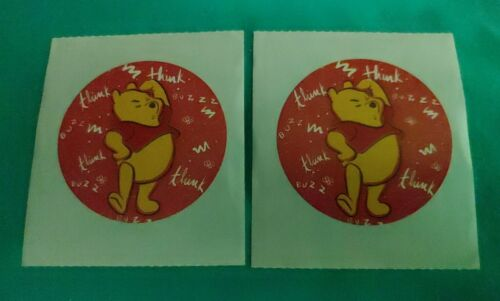Winnie the Pooh Lot of 2 Disney Stickers