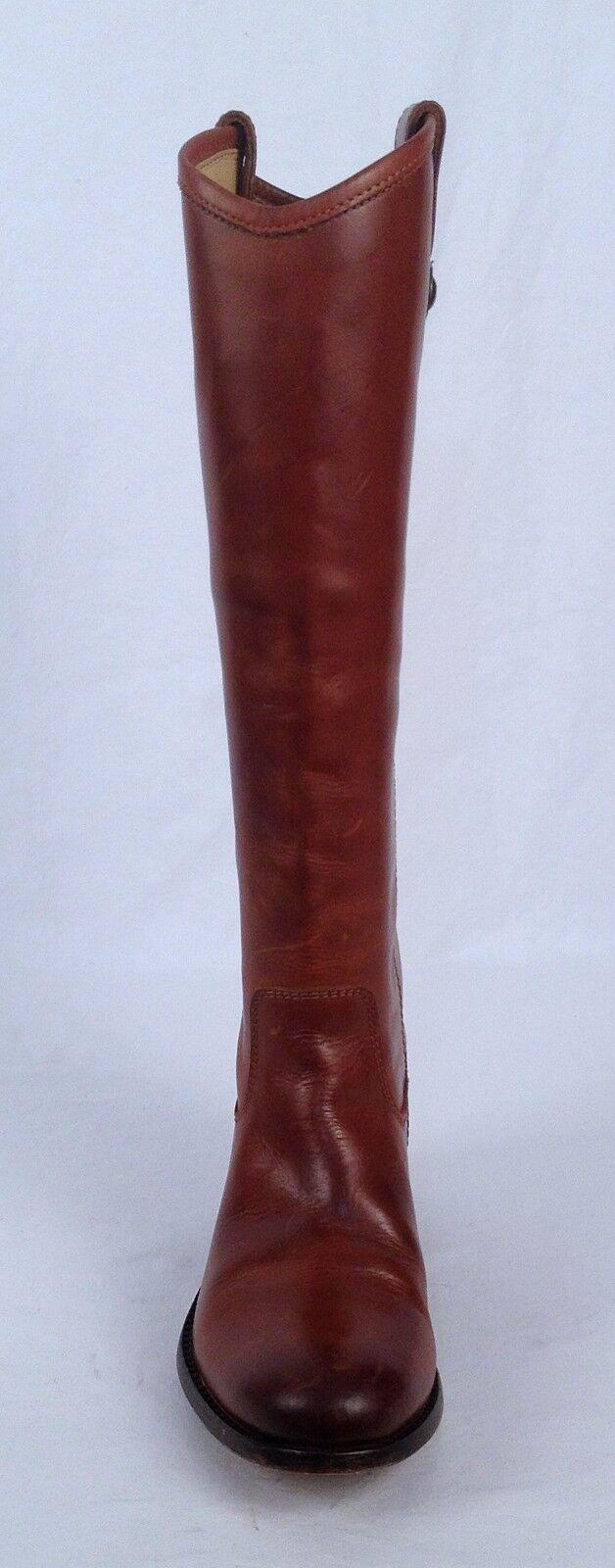 Frye 'Melissa' Button Boot- B Cognac Calf- Size 5.5 B Boot-  (B28) 1d6d22