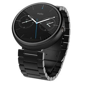 Motorola Moto 360 1st Gen Smartwatch Dark Metal NEW