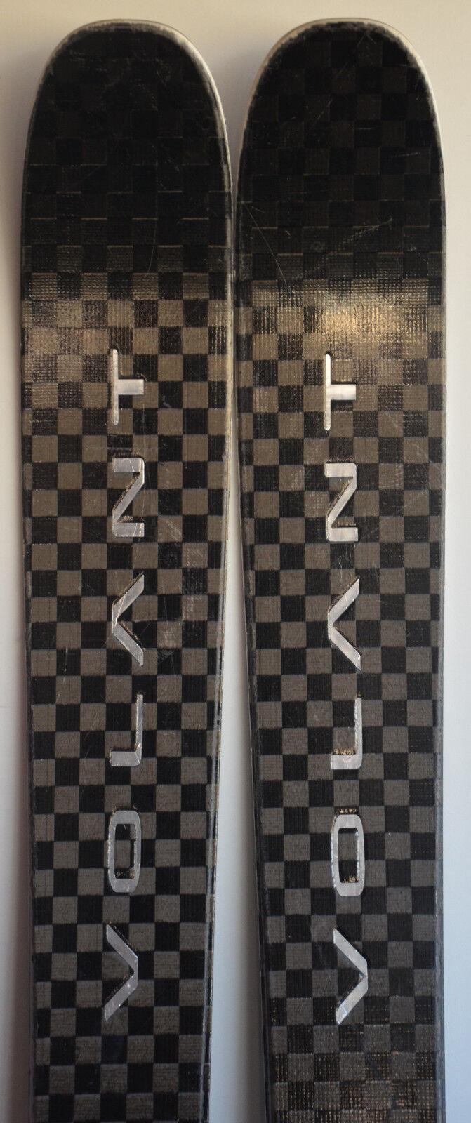 Ski parabolisch gebraucht VOLANT Pulse Farbeado 100 + Skibindungen 176cm/186cm