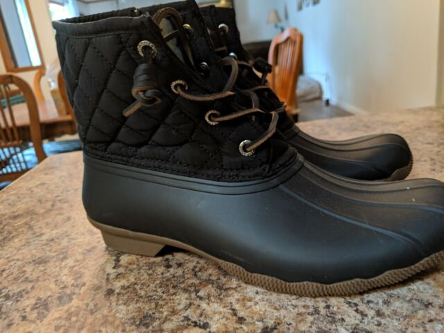 Saltwater Quilted Duck BOOTS Color