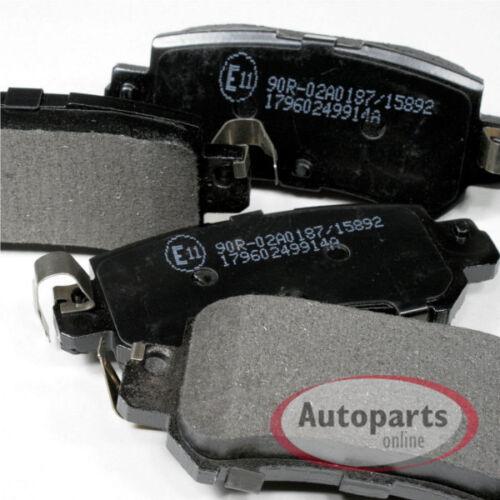 Mazda CX-5 Bremsscheiben Bremsen Beläge für hinten die Hinterachse
