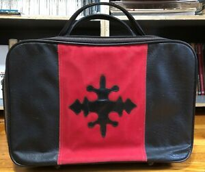 VTG-Lark-Luggage-Carry-On-Bag-Suitcase-Gothic-Iron-Cross-Laptop-Briefcase