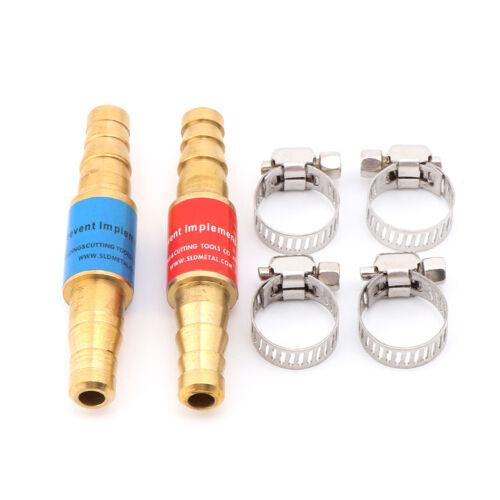 2pcs Pipe Acetylene /& Oxygen ARRESTORS FLASHBACK Torch Welding Gas