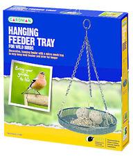 Gardman Hanging Outdoor Garden Wild Bird Feeder Seed Nuts Tray HQ Hanging Tray