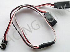 300mm 30cm Y Micro Standard Servo Extension Lead Wire Futaba Connector male Plug