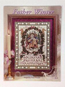 Father Winter Cross Stitch Pattern Leaflet Chart 107 Christmas