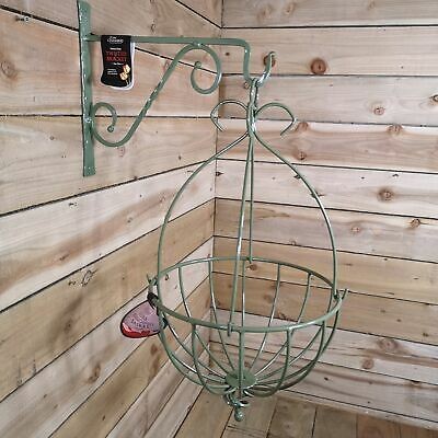 """32/"""" Tom Chambers Spanish Wall Hanging Planter Hayrack For Flowers-NEW Last one!"""