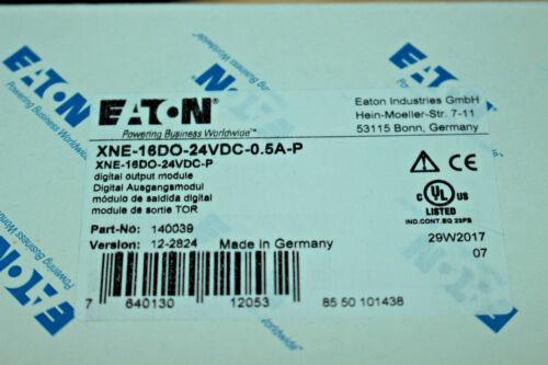 Eaton 140039// XNE-16DO-24VDC-0.5A-P// Eco 16 Digital Salida 24V 0.5A//EAN76