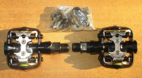 Pedals Sunlite Pyramid MTB Clipless 1 plus Shimano Cleat Hardware
