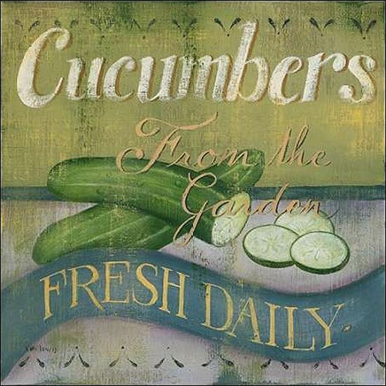 Kim lewis  cucumber stretcher-image screen vegetables kitchen dining