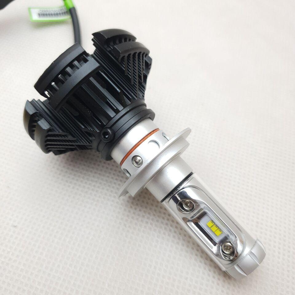 Lys og lygter, H7 LED X3 ZES CAN BUS 3000K 6500K 8000K / 50W