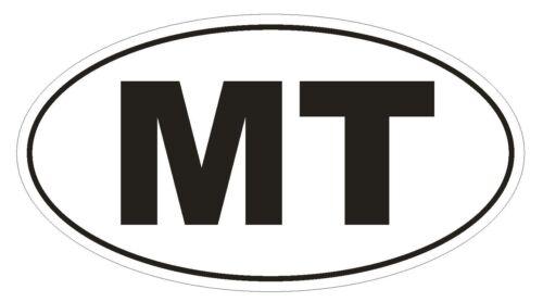 MT Montana EURO OVAL Bumper Sticker or Helmet Sticker D472 Malta Country Code