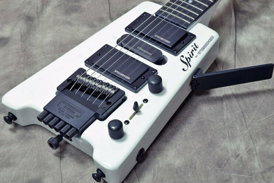 Steinberger Spirit Collection GT-PRO Deluxe Weiß Japan rare beautiful EMS F S