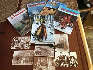 Hunting Fishing Trapping Survival Wild West Billy The Kid Postcards Grouping Lot