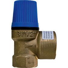 """Caleffi Membran Sicherheitsventil Überdruckventil Wasser 1/2"""" x 3/4"""" - 6 bar"""