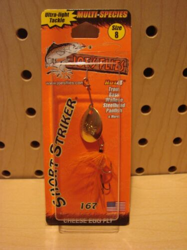 Joes Flies Short Striker 1//8 oz Cheese Egg Fly NEW