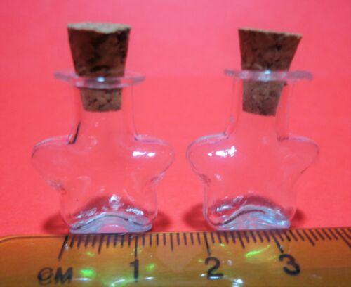 Escala 1:12 2 frascos de almacenamiento de vidrio-Casa De Muñecas Miniatura Accesorios