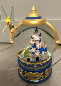 SNOW-GLOBE-Boule-a-neige-CLOCHETTE-CHATEAU-Tink-Castle-Disneyland-Paris