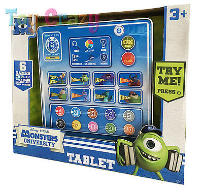 Monsters University Educational Play Tablet with Games