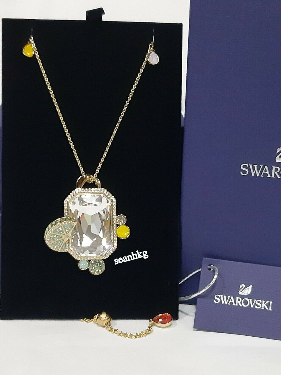 Swarovski No Regrets Pendant, GOS, Multi-colord Crystal Authentic MIB 5480241