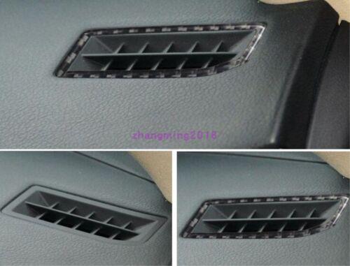Fit For LEXUS IS250//300//350//200T Carbon Fiber Upper Air Vent Outlet Cover Trim