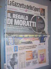 GAZZETTA DELLO SPORT 18-05-2009 FC INTER INTER-SIENA 3-0 FESTA SCUDETTO N°17