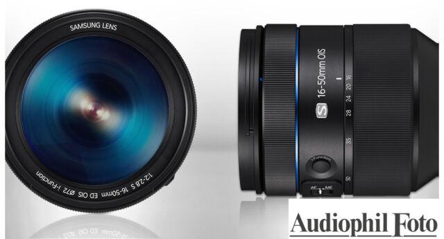 Samsung 16-50mm F/2.0-2.8 S ED OIS Objektiv - Vom Samsungfachhändler