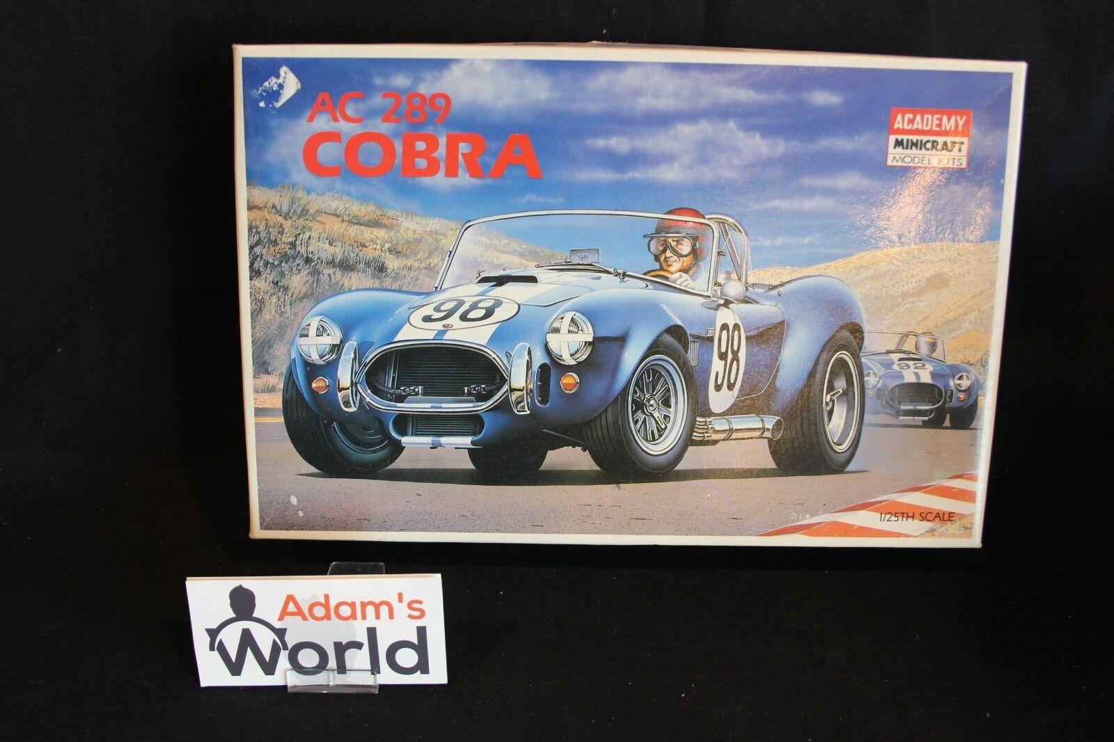 Akademie minicraft kit ac cobra 289 1  25   98 blau   weiß (mg1)