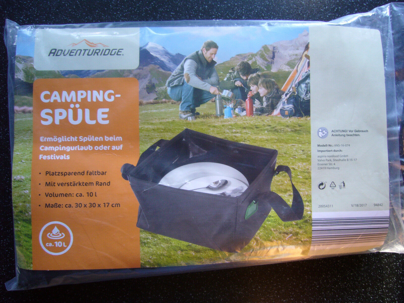 Camping évier -