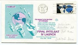 PréCis 1975 Final Intelsat Iv Launch Indian Ocean Station Comsat Cape Canaveral Nasa Us