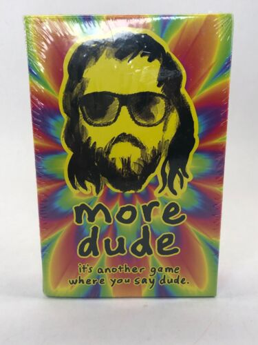 North Star Games More Dude Card Board Game 2018 NEW Sealed