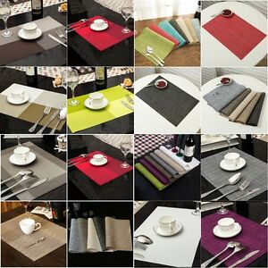 Bon Image Is Loading 4pcs Table Placemats Set Insulated Quick Drying Place